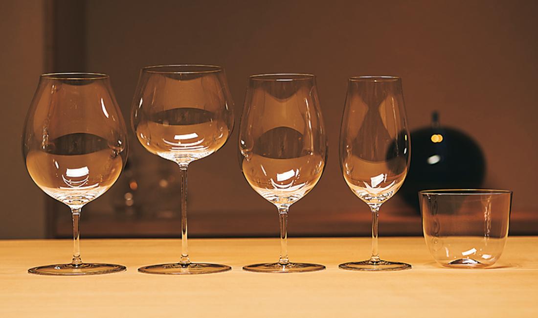 グラスはすべてロブマイヤー