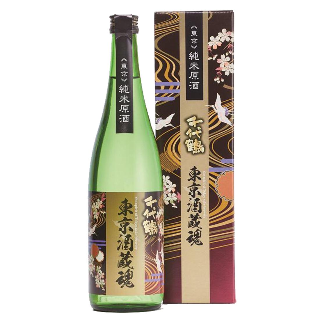 千代鶴 東京酒蔵魂 純米原酒