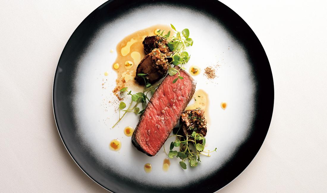 牛肉のロースト べドロヒメネスとバルサミコ酢のアクセント