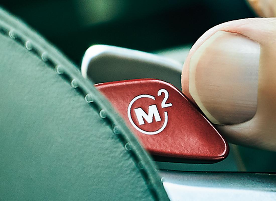 Mスポーツボタン