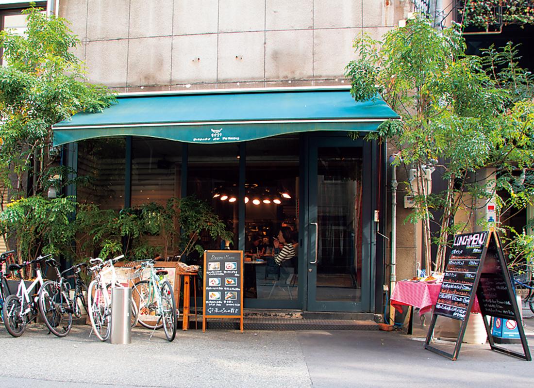 1号店は伝説のカフェレストラン