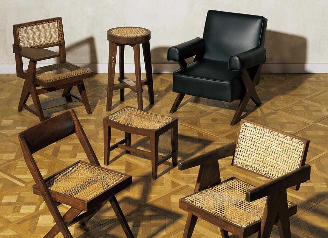 ピエール・ジャンヌレがデザインした椅子