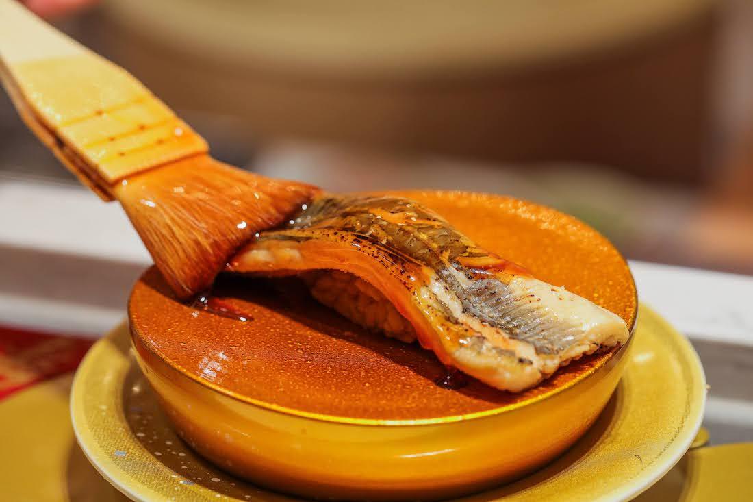 自家製煮穴子 ¥620