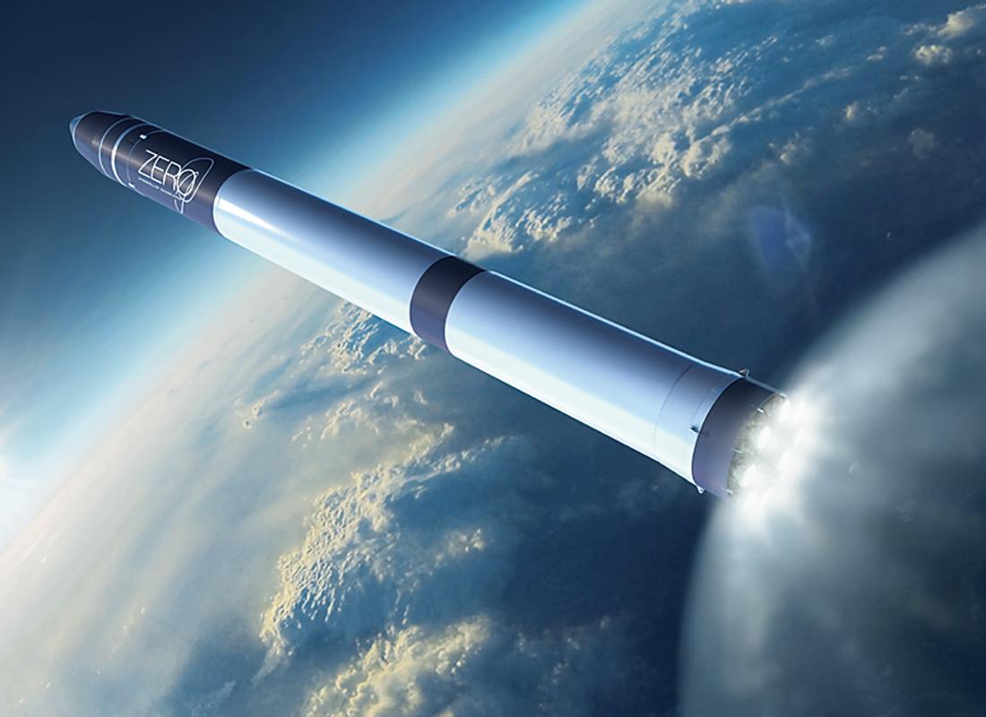 超小型衛星打ち上げロケット「ZERO」