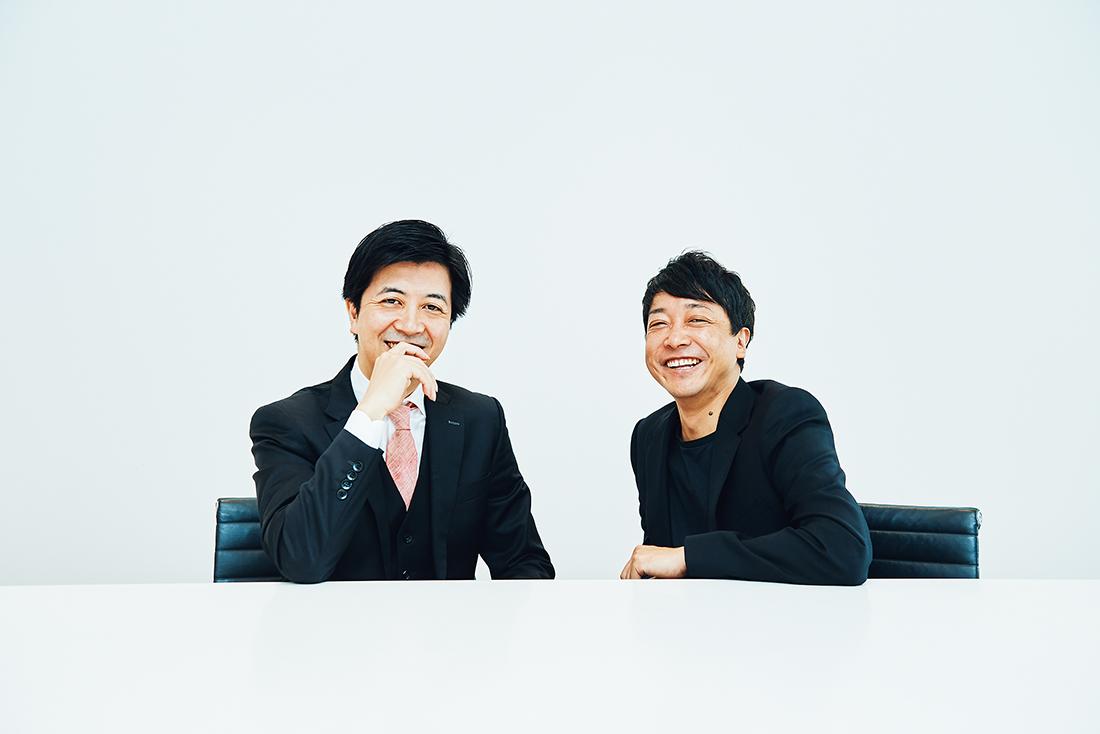 水野 学氏(右)、髙島宏平氏(左)